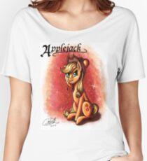 MLP: Applejack (Character Portrait Series)  Women's Relaxed Fit T-Shirt