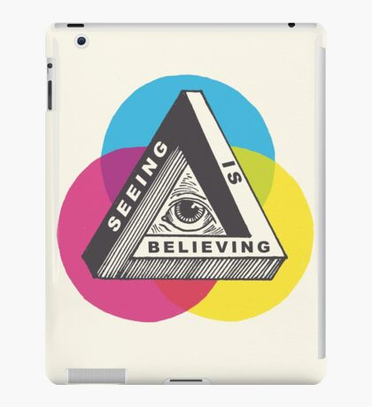 Seeing is Believing iPad Case/Skin