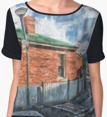 Red Brick House in Hobart Chiffon Top
