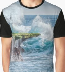 Exploding Surf Graphic T-Shirt