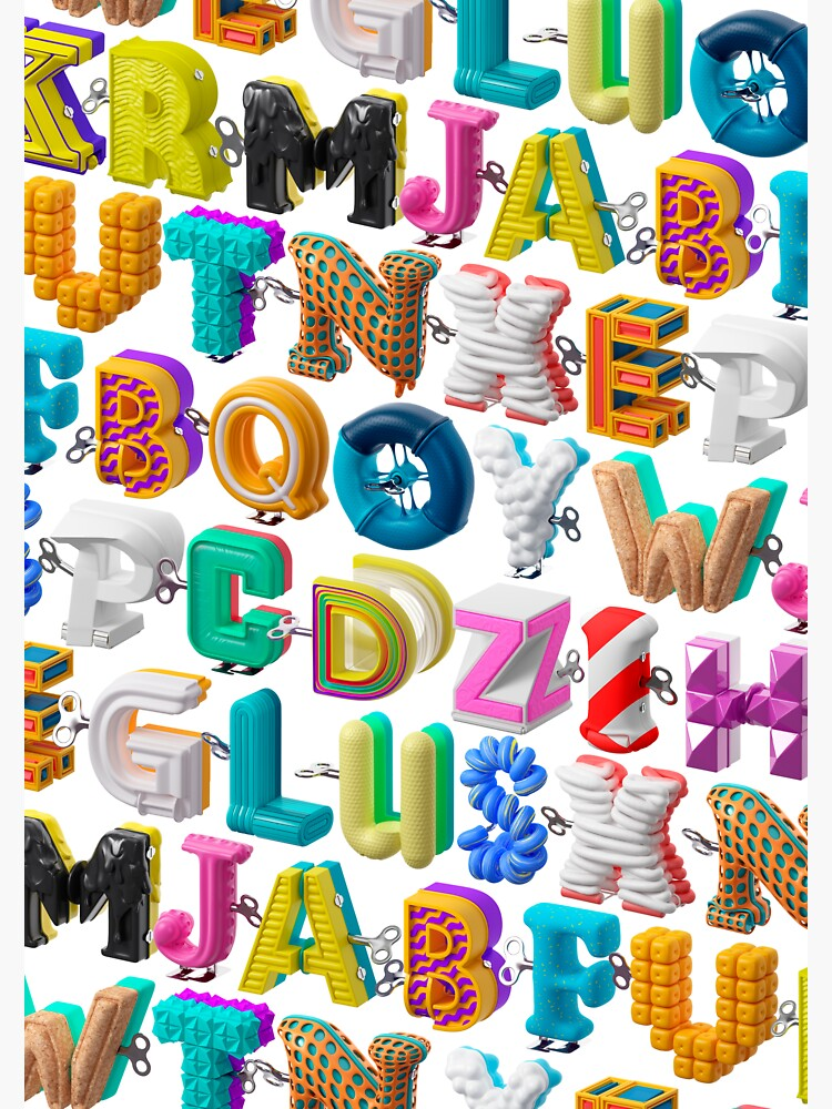 The Alphabet is your Playground by marcgraphics
