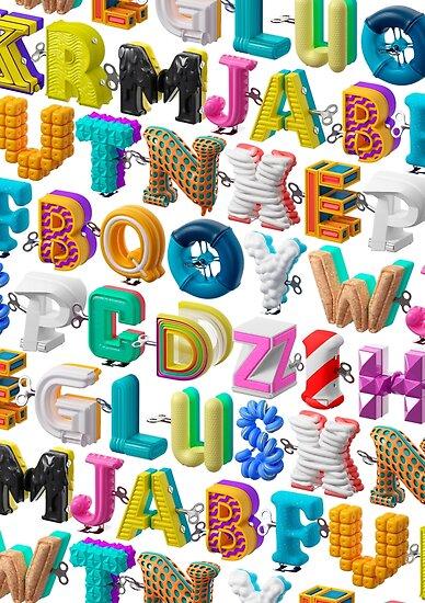 The Alphabet is your Playground by Marc Urtasun