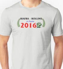 Biafra/Rollins for President 2016 Unisex T-Shirt