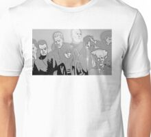 Ghost in the Shell Crew - Engraved Style Unisex T-Shirt