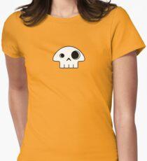 Mushroom Skull - small Women's Fitted T-Shirt