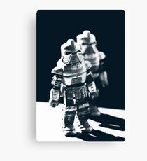 By your command Canvas Print