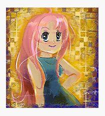 Paint Pastel Princess Photographic Print