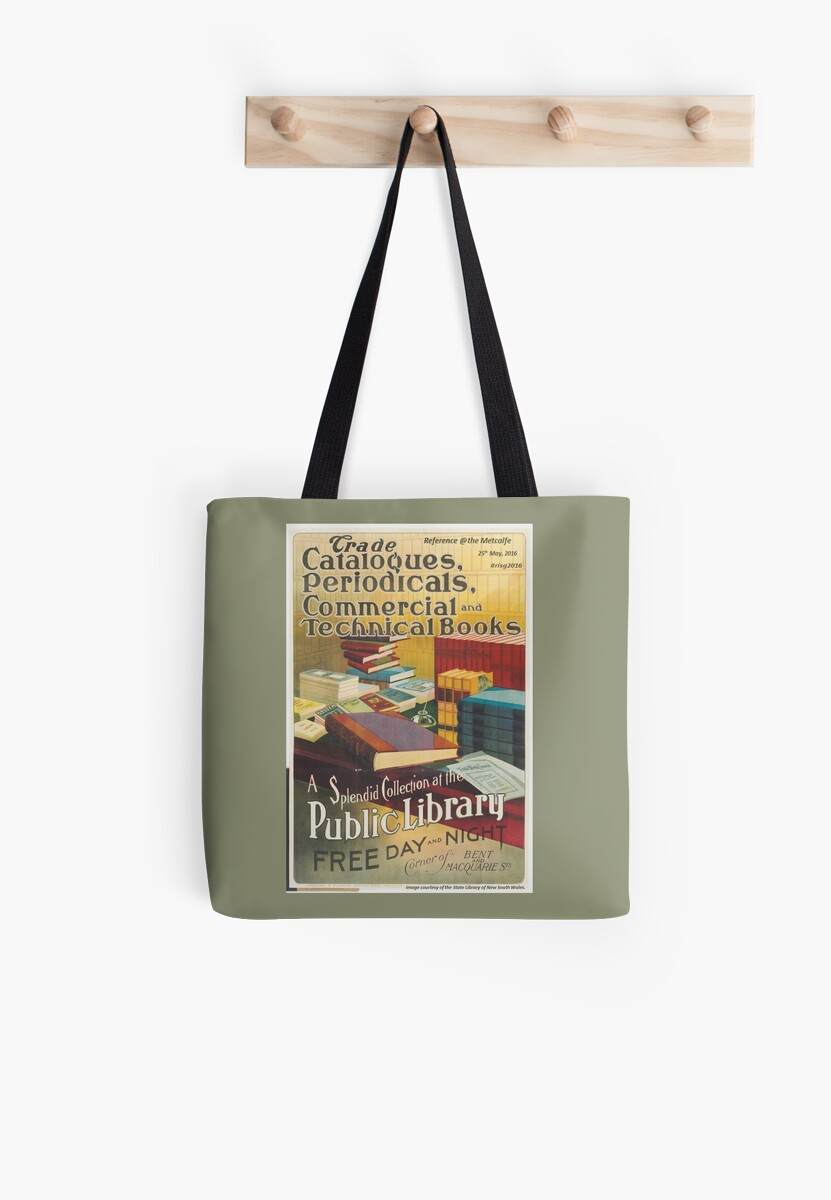 Reference at the Metcalfe 2016 - tote bags by nswRISG