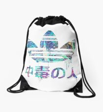 Addict Crystal Drawstring Bag