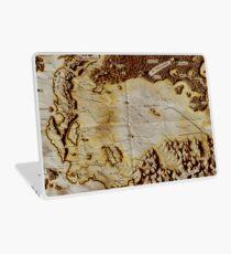 Old folded map of Alagaësia Laptop Skin