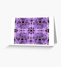 Sci-Fi Abstract Design Greeting Card