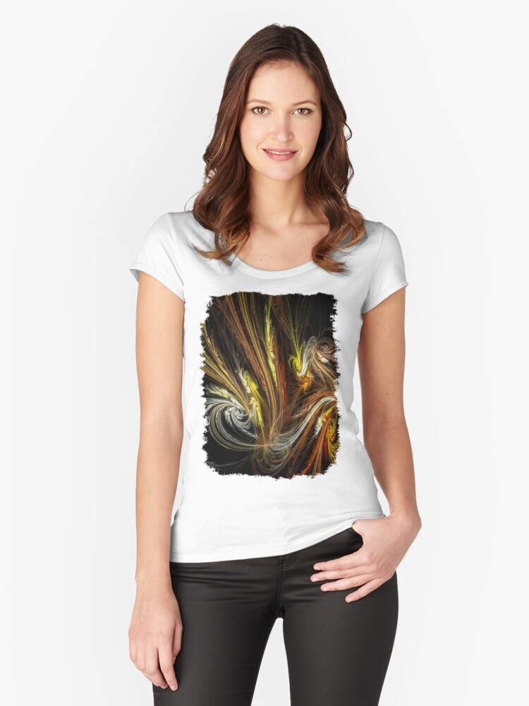 Festive Women's Fitted Scoop T-Shirt Front