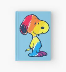 Snoopy Colorful Hardcover Journal
