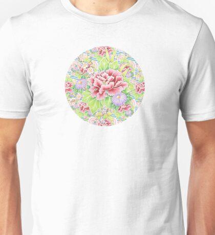 Pastel Kimono Bouquet T-Shirt