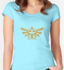 Zelda Tailliertes Rundhals-Shirt
