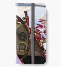 1950 Ferrari 212 F1 Interior iPhone Wallet/Case/Skin