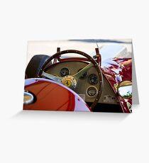 1950 Ferrari 212 F1 Interior Greeting Card