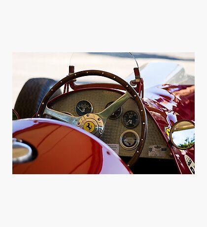 1950 Ferrari 212 F1 Interior Photographic Print