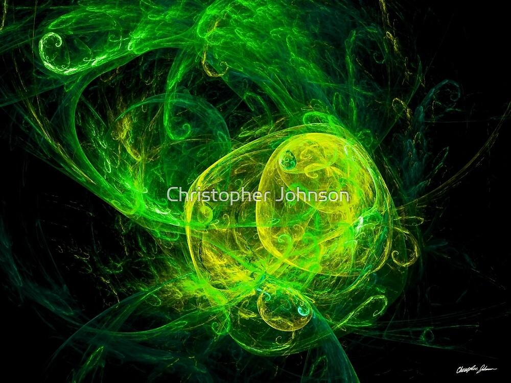 Alien Gold Green by Christopher Johnson