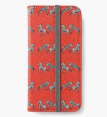 Pattern of The Royal Tenenbaums iPhone Wallet/Case/Skin