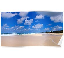 Pipeline, North Shore, Oahu, Hawaii Poster