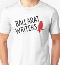 Ballarat Writers Shirt (White/Grey) Unisex T-Shirt