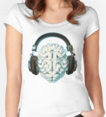 Mind Music Connection Women's Fitted Scoop T-Shirt