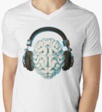 Mind Music Connection Men's V-Neck T-Shirt