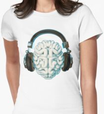 Mind Music Connection Women's Fitted T-Shirt