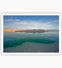 Dead sea, Israel at dusk Sticker