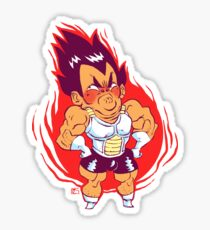 cranky pants Vegeta Sticker