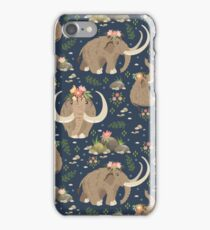 Cute mammoths iPhone Case/Skin