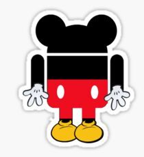 Android Mickey Sticker