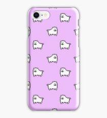 Undertale Annoying Dog - Pastel Purple iPhone Case/Skin