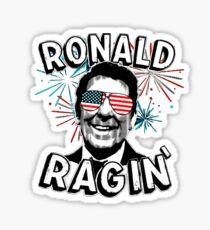 Ronald Ragin' Sticker