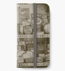 TOBACCO iPhone Wallet/Case/Skin