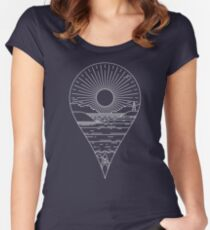 Heading Out Women's Fitted Scoop T-Shirt