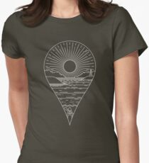 Heading Out Women's Fitted T-Shirt