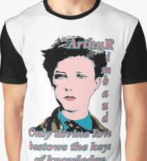 Arthur Rimbaud Divine Love Graphic T-Shirt