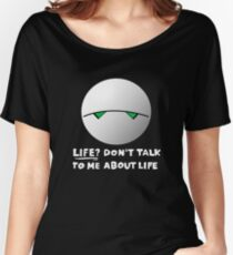 The paranoid android Women's Relaxed Fit T-Shirt