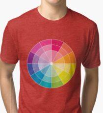 Colour Wheel Tri-blend T-Shirt