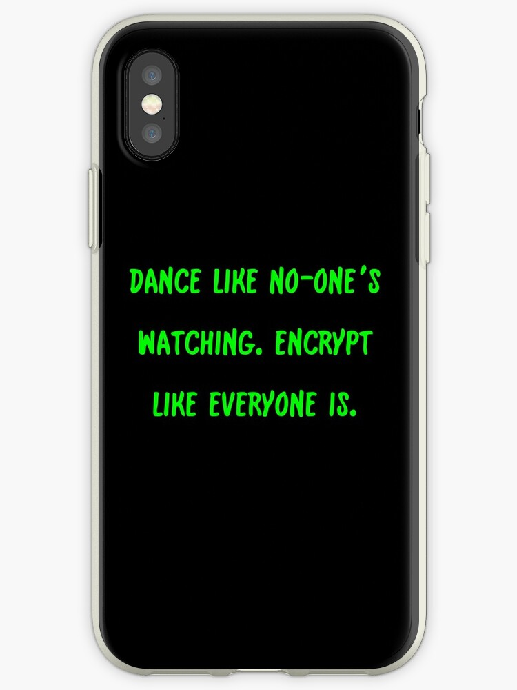 Encrypt like they're watching by ArtWeaver