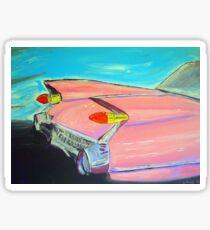 Pink Cadillac Sticker