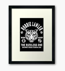 Robbie Lawler Boxing Academy Framed Print