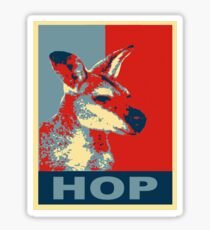 HOP - Yes We Kan-garoo Sticker