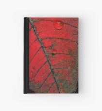 Red Leaf Hardcover Journal