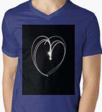 Lightening Heart Mens V-Neck T-Shirt