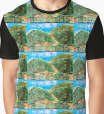 Green and rolling hills Graphic T-Shirt