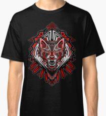 Wolf Tattoo Style Haida Art Classic T-Shirt
