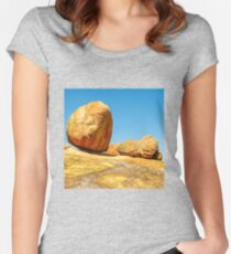 Landscape - Matobos Boulders Women's Fitted Scoop T-Shirt